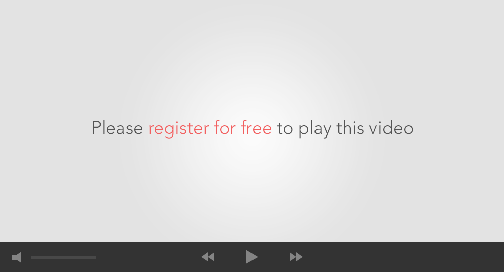 Please register to play this video